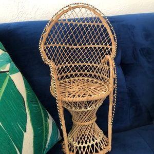 Mini Peacock Chair